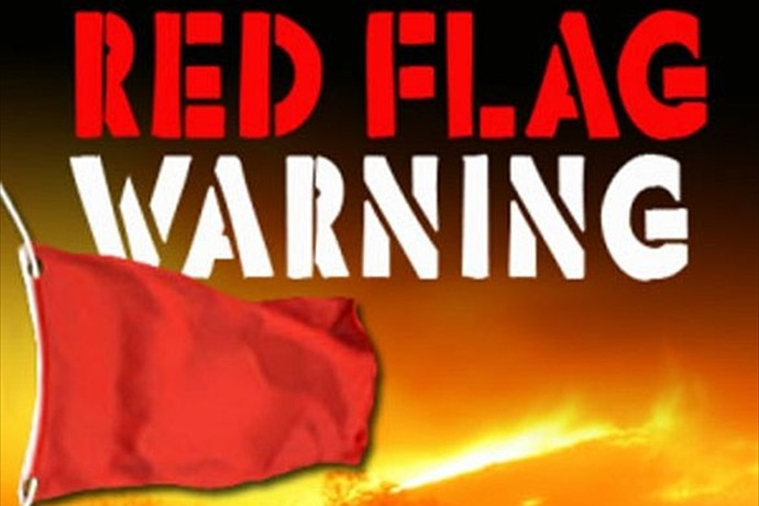 Red Flag Warning In Effect Hoover Fire Department