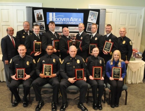 Hoover chamber honors top 2016 public safety officers