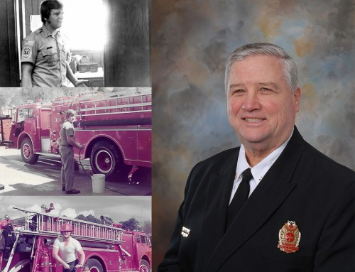 Operations Chief Rick L. Patterson is retiring after 42 years of service